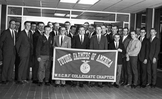 1967 Dr. Matteson and the FFA Students